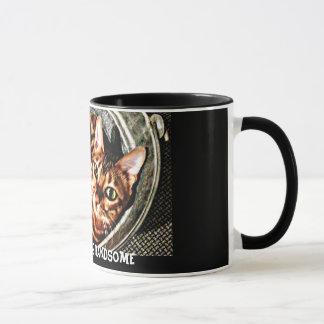 ベンガル猫のおはようのハンサムなマグ マグカップ