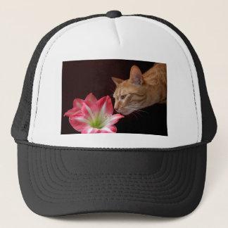 ベンガル猫のアマリリスのjjhelene キャップ