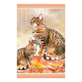 ベンガル猫のギフト 便箋