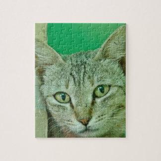ベンガル猫の顔 ジグソーパズル