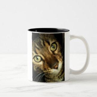 ベンガル猫 ツートーンマグカップ