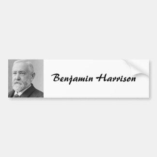ベンジャミン・ハリソン23 バンパーステッカー