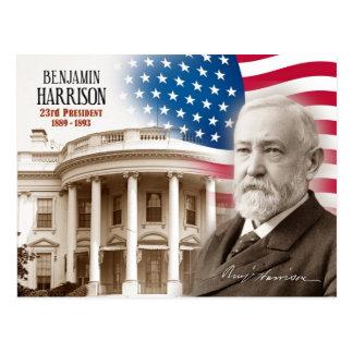 ベンジャミン・ハリソン-米国の第23大統領 ポストカード