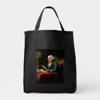 ベンジャミン・フランクリンのポートレート トートバッグ