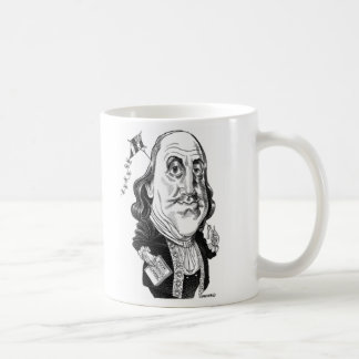 ベンジャミン・フランクリンのマグ コーヒーマグカップ