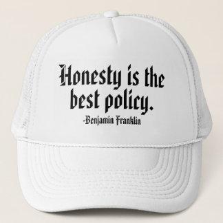 ベンジャミン・フランクリンの引用文のトラック運転手の帽子 キャップ
