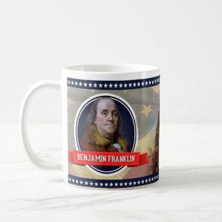 ベンジャミン・フランクリンの歴史的マグ コーヒーマグカップ