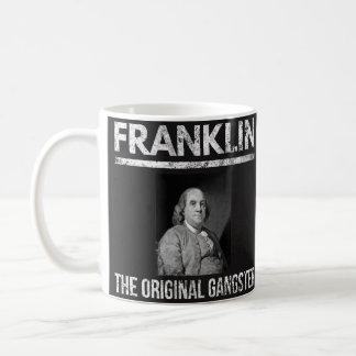 ベンジャミン・フランクリンはマグ-元のギャング--を引用します コーヒーマグカップ
