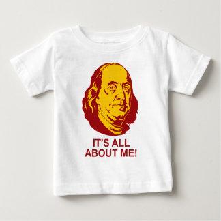 ベンジャミン・フランクリン ベビーTシャツ