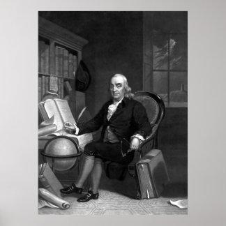 ベンジャミン・フランクリン -- 科学者 ポスター