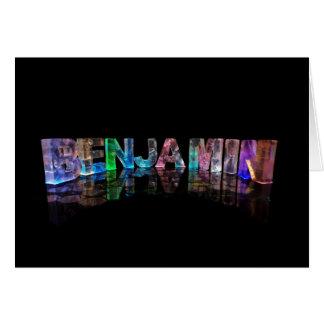 ベンジャーミンのための挨拶状 カード