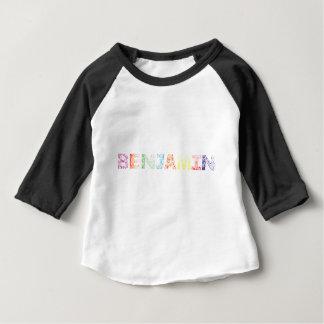 ベンジャーミンの音名 ベビーTシャツ