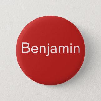 ベンジャーミンボタン 5.7CM 丸型バッジ