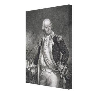 ベンジャーミンリンカーン(1733-1810年) (版木、銅版、版画) キャンバスプリント