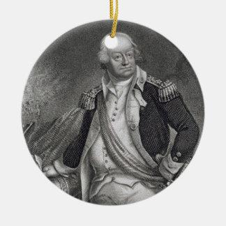 ベンジャーミンリンカーン(1733-1810年) (版木、銅版、版画) セラミックオーナメント