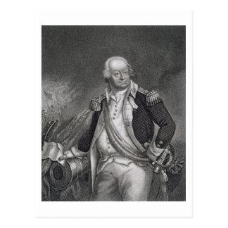 ベンジャーミンリンカーン(1733-1810年) (版木、銅版、版画) ポストカード
