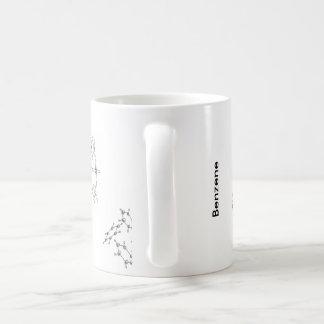 ベンゼン構造 コーヒーマグカップ