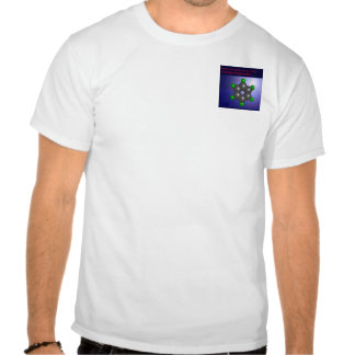 ベンゼン 分子 ポケット T-シャツ