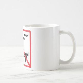 ベンチの印で置くこと コーヒーマグカップ