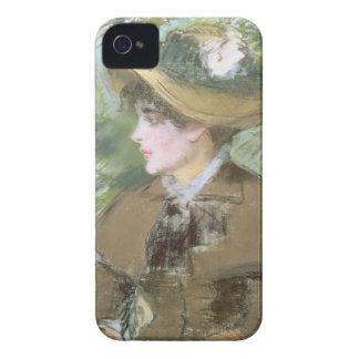 ベンチのManet  、1879年 Case-Mate iPhone 4 ケース