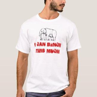ベンチ筋肉ワイシャツ Tシャツ