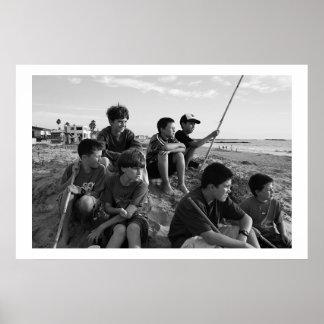 ベントゥーラのビーチの男の子 ポスター