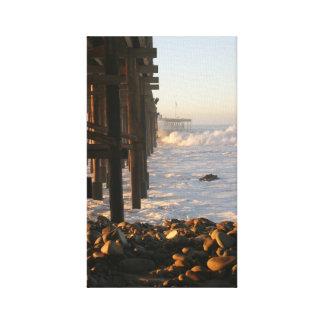 ベントゥーラの嵐桟橋 キャンバスプリント