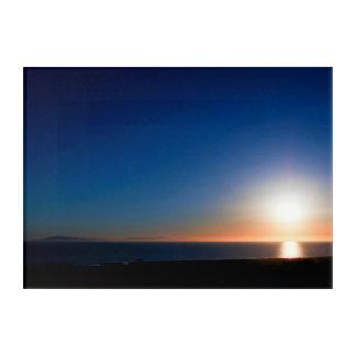 ベントゥーラの日没 アクリルウォールアート
