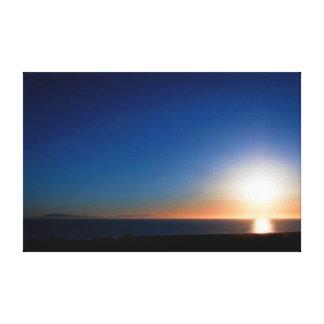 ベントゥーラの日没 キャンバスプリント