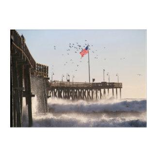 ベントゥーラ桟橋は|エルニーニョ現象を振ります アクリルウォールアート