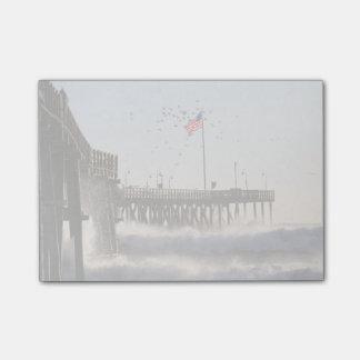 ベントゥーラ桟橋は エルニーニョ現象を振ります ポストイット