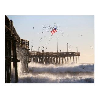 ベントゥーラ桟橋は エルニーニョ現象を振ります ポストカード