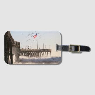 ベントゥーラ桟橋は エルニーニョ現象を振ります ラゲッジタグ