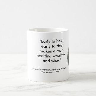 ベンフランクリンのマグ コーヒーマグカップ