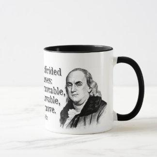 ベンフランクリンの人類 マグカップ