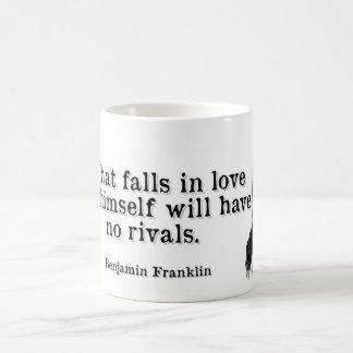 ベンフランクリン愛 コーヒーマグカップ