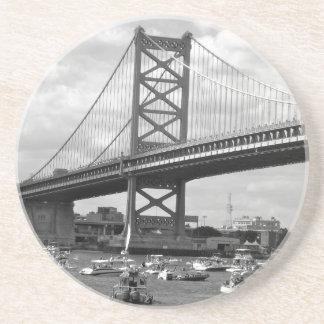 ベンフランクリン橋の景色の眺め コースター
