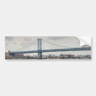 ベンフランクリン橋 バンパーステッカー