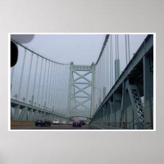 ベンフランクリン橋 ポスター