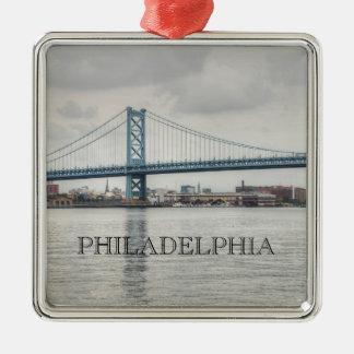 ベンフランクリン橋 メタルオーナメント