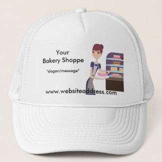 ベーカリーか洋菓子屋4のデザイン キャップ