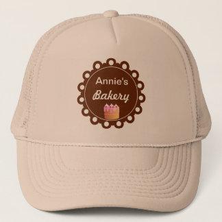 ベーカリーのケーキ-ビジネス帽子の帽子 キャップ