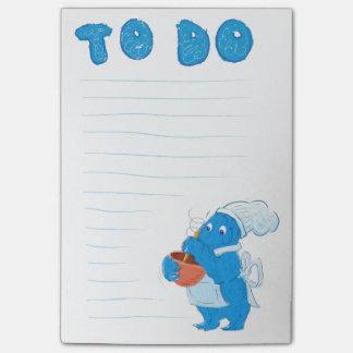 ベーカリーモンスターのToDoのメモ帳 ポストイット