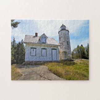 ベーカー島の灯台、メイン ジグソーパズル
