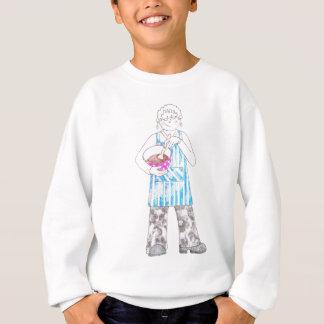 ベーキングの女性 スウェットシャツ