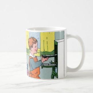 ベーキングの樵のクッキー コーヒーマグカップ
