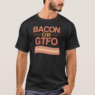 ベーコンかGTFO Tシャツ