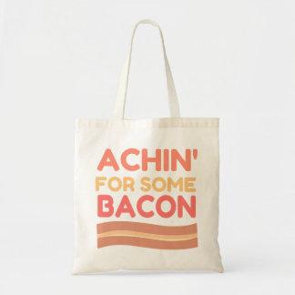 ベーコンのためのAchin トートバッグ