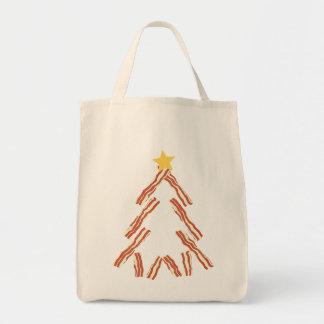 ベーコンのクリスマスツリー トートバッグ