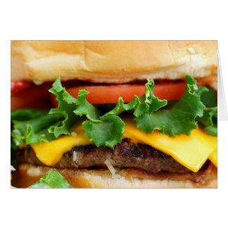 ベーコンのチーズバーガー カード